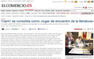 El Comercio: Clarín se consolida como lugar de encuentro de la literatura
