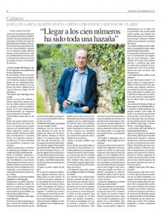 Entrevista a José Luis García Martín